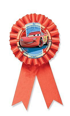 Disney Cars | Lightning McQueen Party | Award Ribbon | Badge | Rosette 1-8pk
