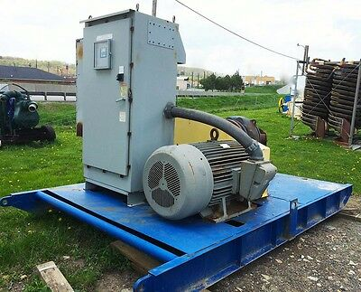 "GIW 10"" Dredge Booster  Pump with 300 HP motor, soft start, skid mounted"