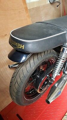 Short Triumph  Scrambler, Bonneville  Rear Fender, Smooth
