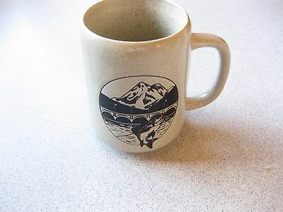 DIABLO LAKE RESORT stoneware coffee cup