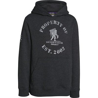 Under Armour YOUTH WWP Freedom Hoodie (Black) 1252245-001 Wounded Warrior