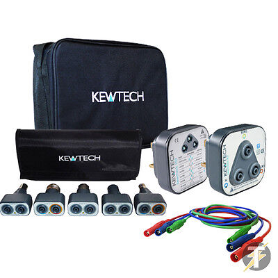 Kewtech Lightmate Light Testing Kit, 103 & R2 Socket Testers, Test Leads & TK1