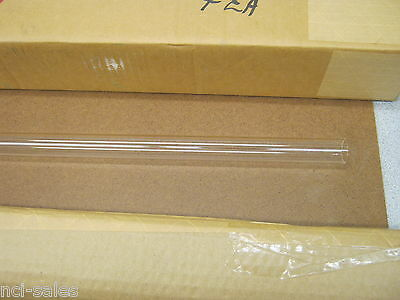 "Pack Of 4 Glass Tubes 32¾"" Length 0.065"" Thickness 1"" O.d."