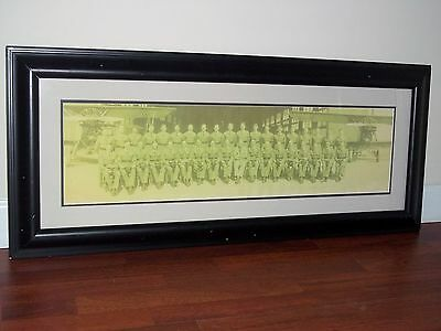"""1931 Flying Cadets Upper Class Framed Photo (42""""x18"""") by E. Goldbeck in SA,Texas"""