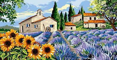 Margot de Paris Tapestry/Needlepoint Canvas - Provencal Village