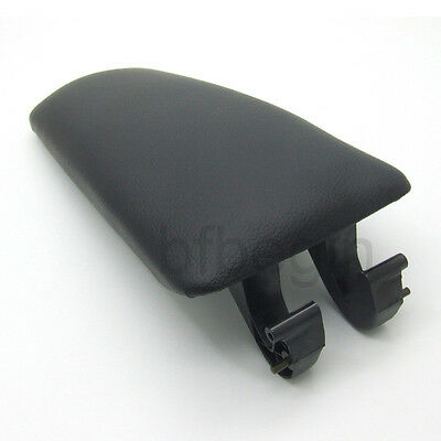 For 2002-2005 Audi A4 B6 B7 Black Armrest Arm Rest Center Console Lid Cover New