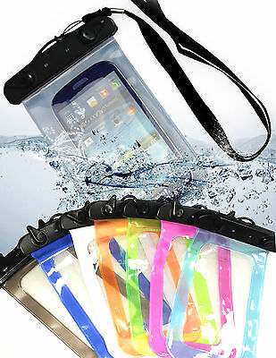 Cover Sacchetto waterproof Custodia impermeabile acqua CEL smartphone UNIVERSALE