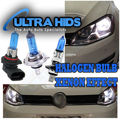 Xenon Like Halogen Bulbs 6500K White Direct Replace H1 H8 H11 H4 H3 H7 9005 9006