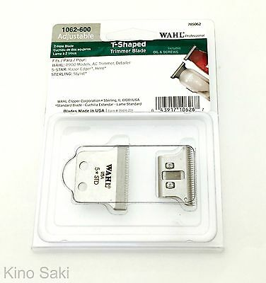 Wahl 2-Hole T-Shaped Blade for Razor Edger, Detailer, Hero Trimmers (1062-600)