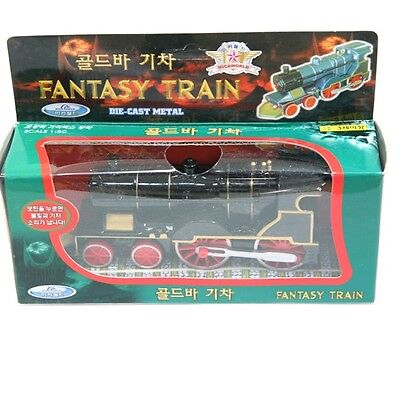Mica FantasyTrain pull back & go action DIECAST METAL 37m+ 1:50 Scale