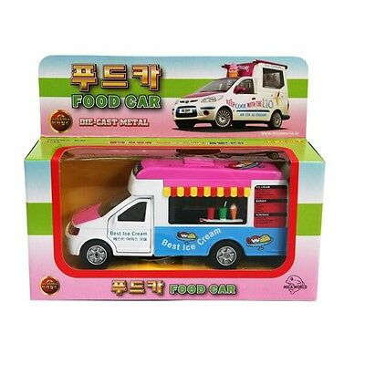 Mica CT1295 KOREA FOOD CAR Best Ice Cream SOUND DIECAST METAL