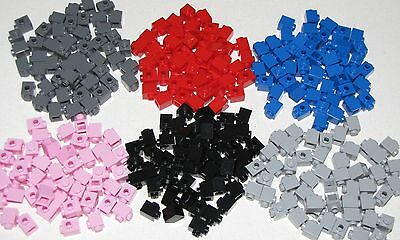 Lego Lot Of 50 New 1 X 1 Modified Bricks With Stud On 1 Side You Pick What Color
