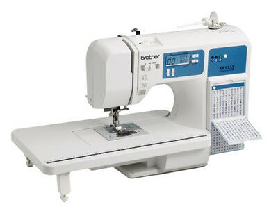 Brother XR1355 130 Stitch Sewing&Quilting Machine+Table Compare to HC1850