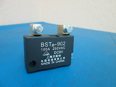 VDE BST-902 DC9V Latching Relay 100A 250VAC - New