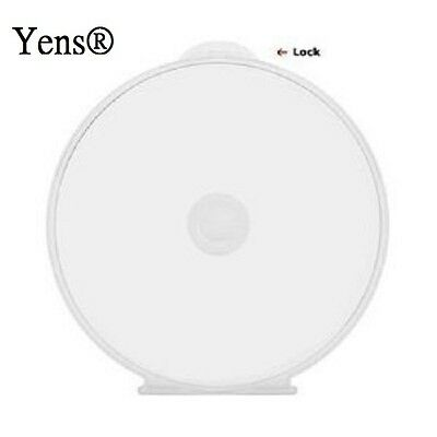 Yens® 100 Premium Clear Single C Shell Poly CD DVD Case 100#Cshell