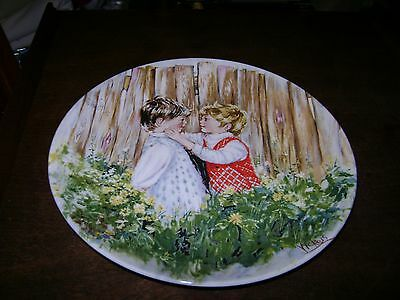 Wedgwood Collector Plate...Be My Friend...1st Issue in My Memories