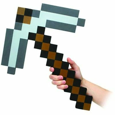 Minecraft Style Stone Pickaxe Foam Toy