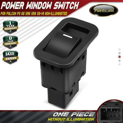 Single Power Window Switch for Ford Territory SX SY TX 04-11 Non-illuminated