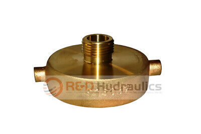 """Fire Hydrant Adapter 1-1/2"""" NST(F) x 3/4"""" GH(M)"""
