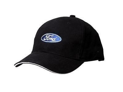 Ford Logo Black Baseball Cap Hat Official Licensed Product by Richbrook