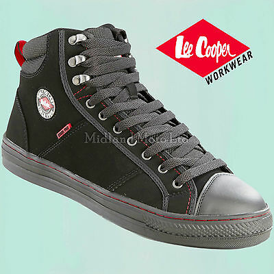 Lee Cooper Steel Toe Cap Baseball Style Safety Boots. Size UK 3 - 12.  LC022