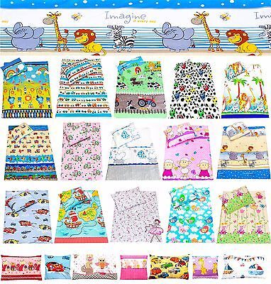 baby boy & girl bedding pillowcases 2 piece sets crib cot cot bed 100 % cotton