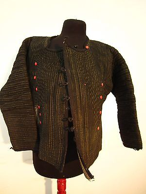 Antique 19th Century Hand Embroidered Eastern European Jacket Folk costume Vest