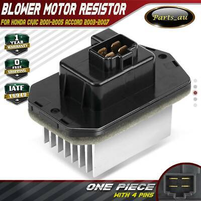 Blower Motor Heater Fan Resistor for Honda Civic 01-05 Accord 03-07 79330SDGW41