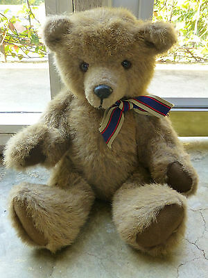 """Betty's Teddys  Brown Humpback Handmade Bear Fully Jointed 13"""""""