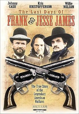 The Last Days of Frank and Jesse James (DVD, 2003)