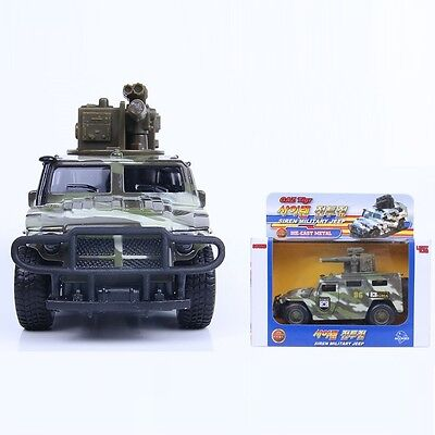 MICA CT872 Siren Military Jeep Die-cast Miniature Scale 1:35