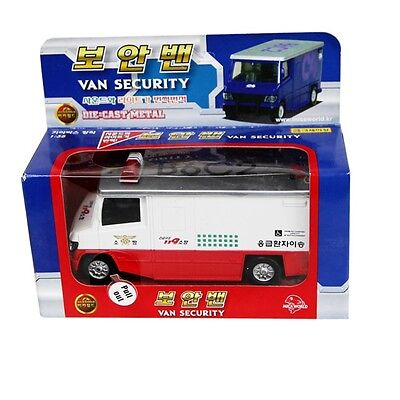 Mica KOREA 119  VAN SECURYTY SOUND DIECAST METAL