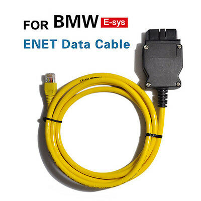 NEW Ethernet to OBD Interface Cable E-SYS ICOM Coding F-series for BMW ENET