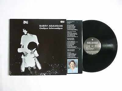 Barry Adamson ~ Oedipus Schmoedipus Lp ~ Stumm134 ~ Ex+/ex+ ~ Uk '96 A1/b1 1St
