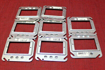 "Steel City 52-C-62 4""  1 Gang 1/4"" Electrical Outlet Raised Cover LOT OF 8 New"