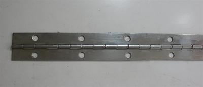 "Jefco 125SS720212002STS 72"" Continuous Hinge 1.25"" Wide Stainless Steel 19819"