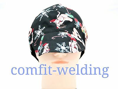 New pure cotton welding hat cap for welder painter pipe-fitter, Beauty / black
