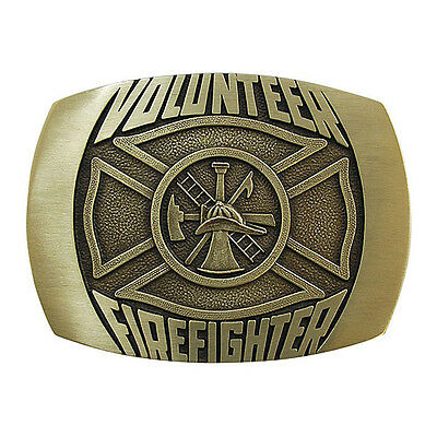 Volunteer Firefighter Belt Buckle OBM173 IMC-Retail
