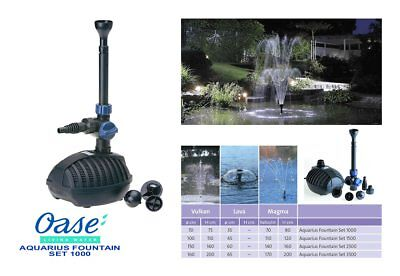 Oase Aquarius Fountain Set 1000 Pump