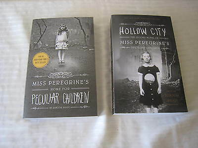 Miss Peregrine's Home for Peculiar Children Series by Ransom Riggs (Books 1-2)