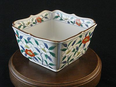 Hand Painted Stoneware Candy Nuts Dish Bowl Made in Japan