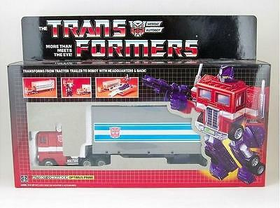 Transformers G1 OPTIMUS PRIME Re-issue Toy Figure Collection SET MISB Brand NEW