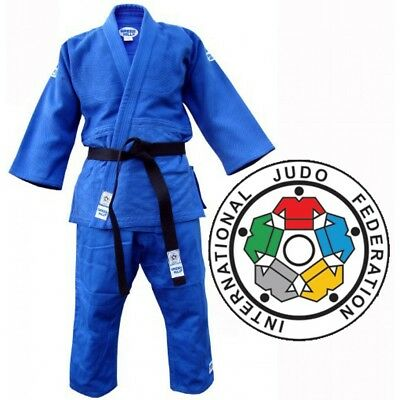 Greenhill Heavyweight Olympic IJF Approved Judo Suit BLUE - Kids