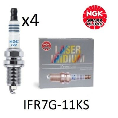 Ngk Laser Iridium Spark Plugs Honda Integra Dc5 Civic Type R Ep3 Fn2 Ifr7G-11Ks