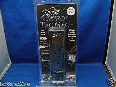 Factory Kimber Tac Mag 1911 Magazine 45 ACP Stainless Steel Full Size 8 Round