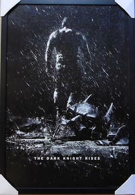 The Dark Knight Rises Movie Cover Framed Poster