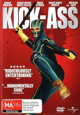 Kick Ass  - DVD - NEW Region 2, 4