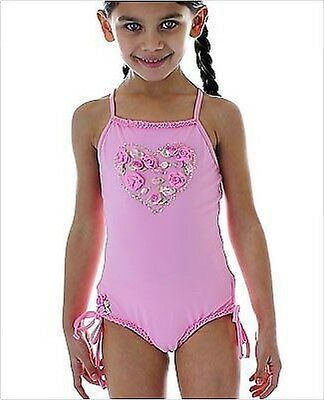 Infant /& Toddler Girls Snap Me Diagonal Strap One Piece Swimsuits Size 6//9mo-4T