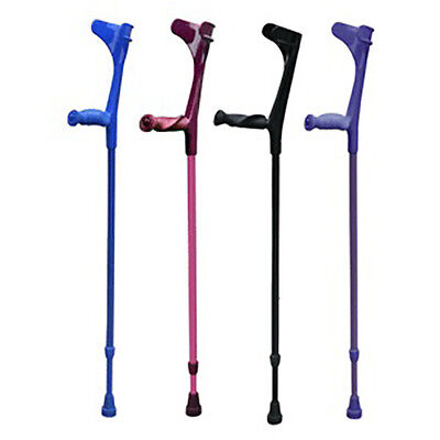 KOWSKY SOFT GRIP ELBOW CRUTCHES - Open or closed cuff soft handle elbow crutches