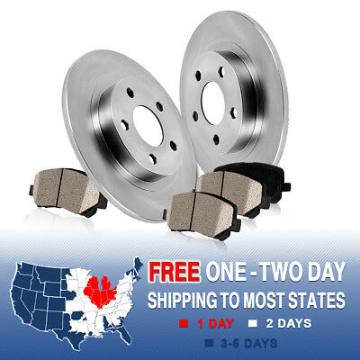 Rear Brake Rotors and Ceramic Pads 2002 2003 2004 2005 FORD EXPLORER MOUNTAINEER